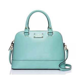 Kate Spade Wellesley Rachelle Light Blue Satchel